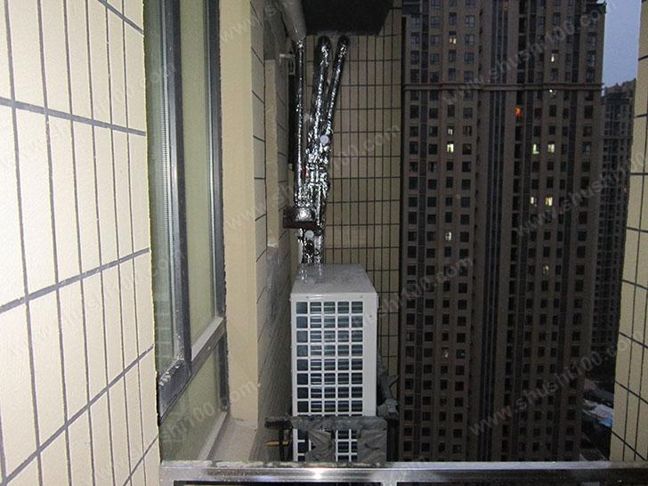 中央空调施工图 室外机安转