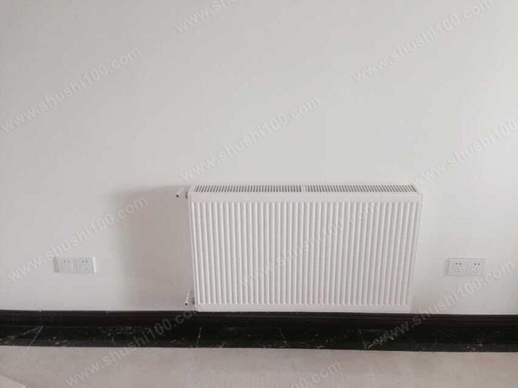 家庭采暖施工图 暖气片安装效果图