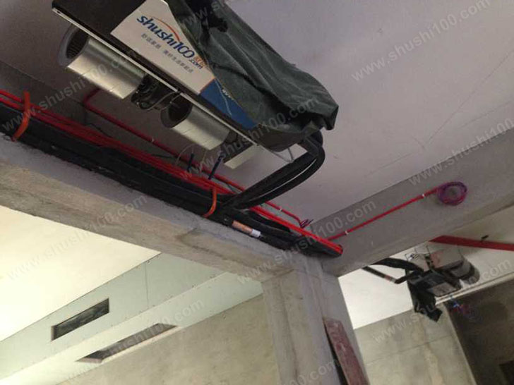 中央空调安装 空调管道安装整齐美观