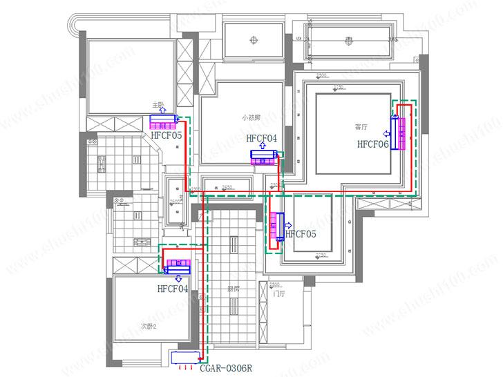 中央空调设计图