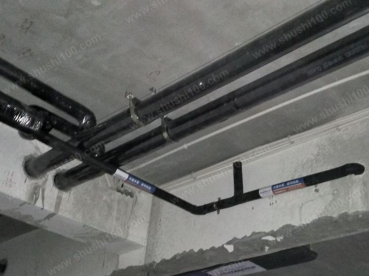 中央空调施工图 管道整齐