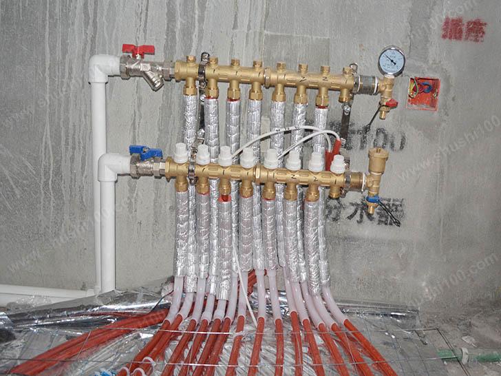 地暖安装 分集水器安装规范