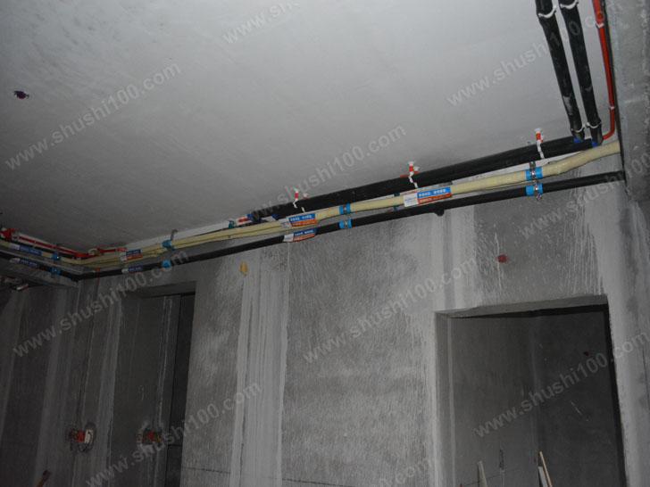 中央空调施工图 走管规范
