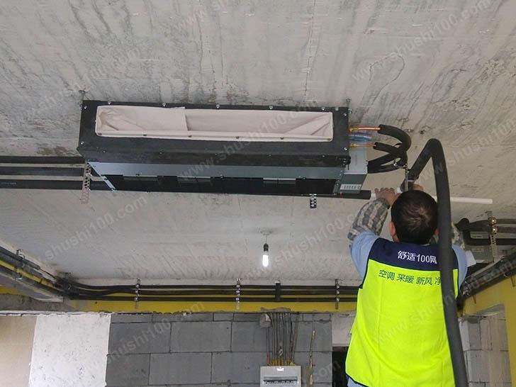 中央空调施工图 工程服务人员专业施工