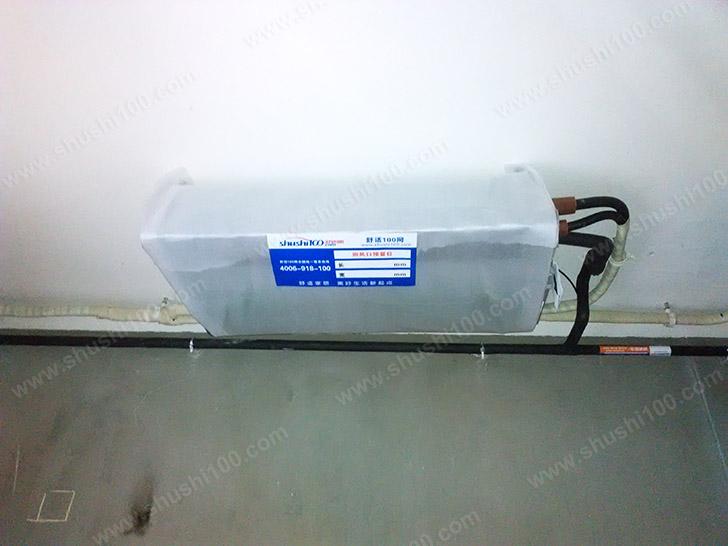 中央空调施工图 主机安装