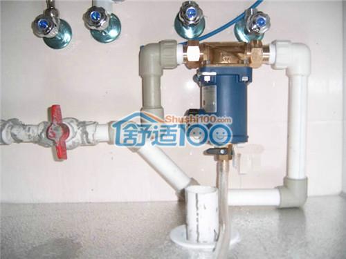 前置��h�y��y��_前置过滤器能不能代替净水器使用?