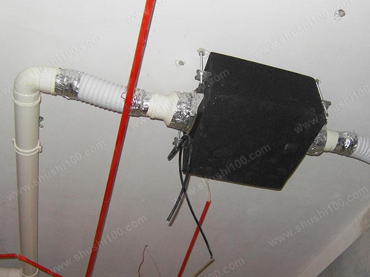 新风系统安装 新风管道室内施工