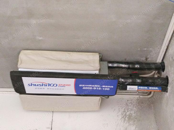 中央空调施工图 内机安装