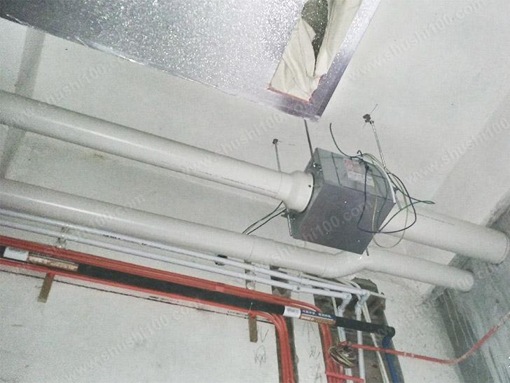 新风室内机安装图