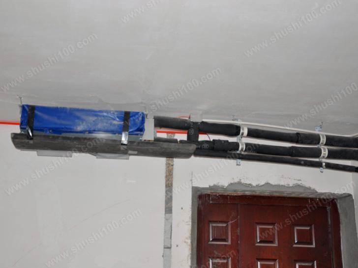风机盘管安装在门口,开门频繁也不会明显影响室温