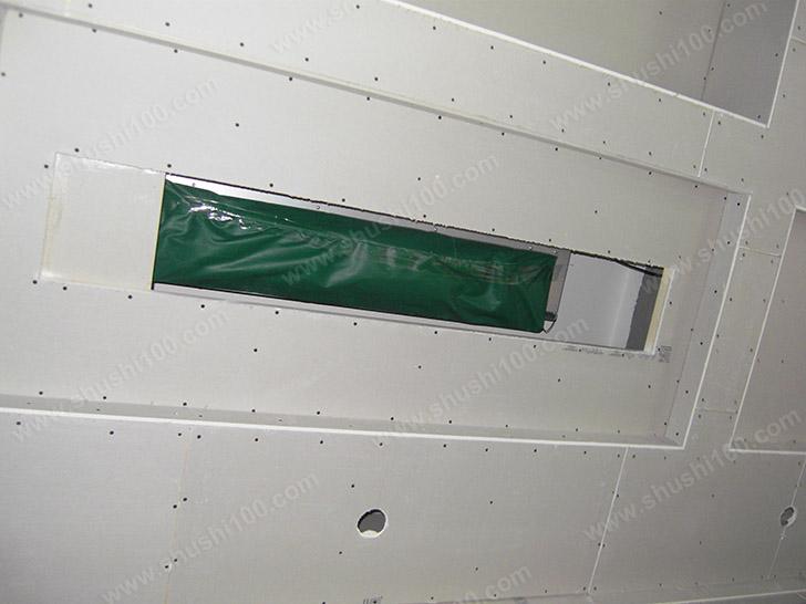 中央空调施工图 隐藏安装
