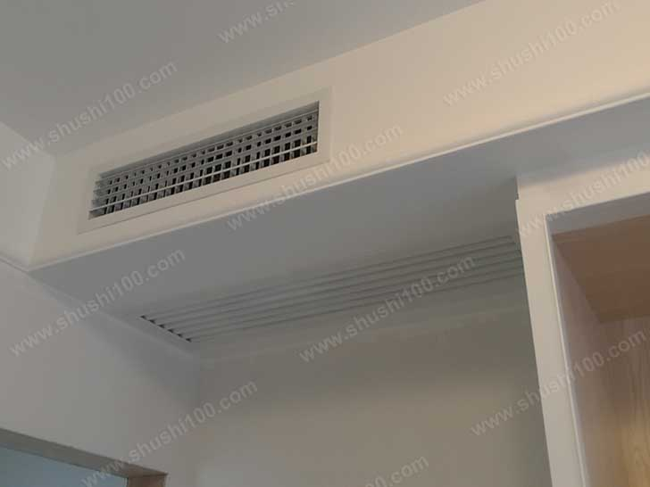 中央空调效果图 隐藏安装
