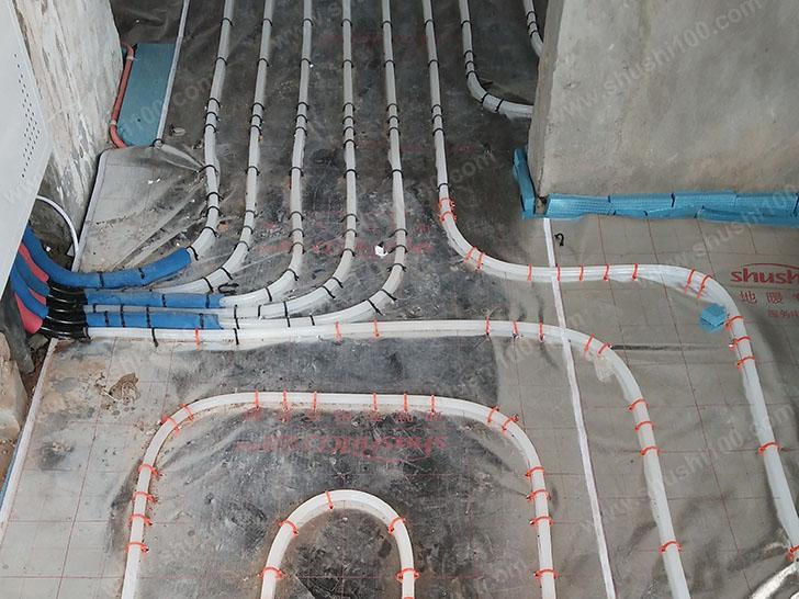 地暖安装 地暖管铺设