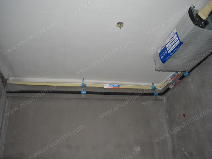 中央空调施工图 管道安装