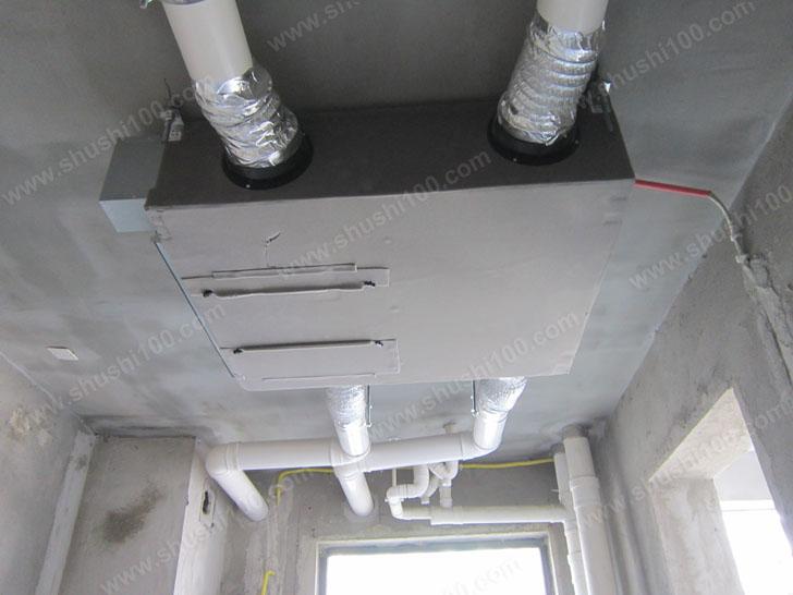 松下新风安装工程实例—武汉琴园小区工程案例