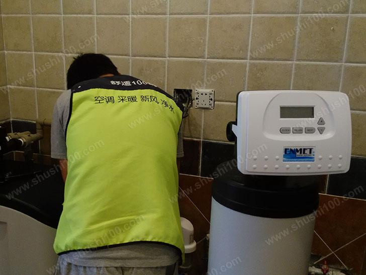 中央净水施工图—净水器安装