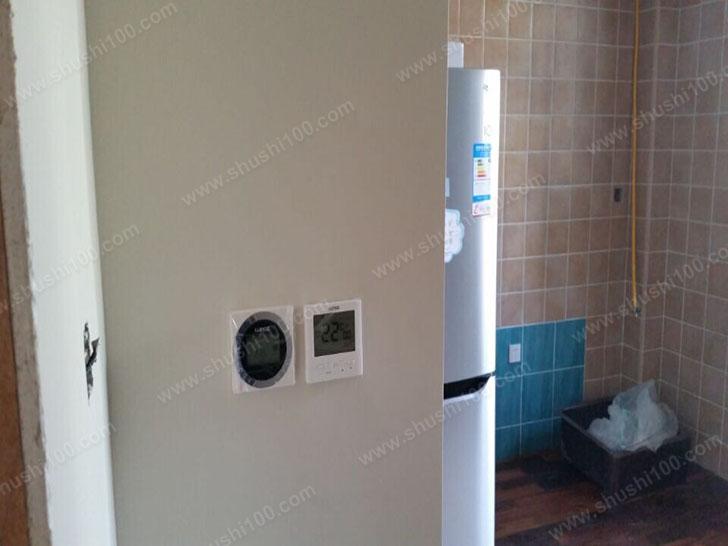 家庭采暖施工图 温控器展示