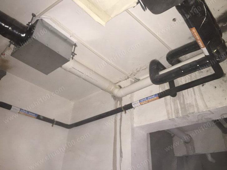 新风系统施工图 新风管道安装