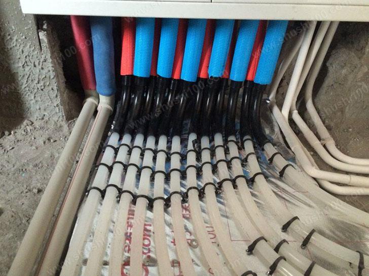 地暖施工图 分集水器