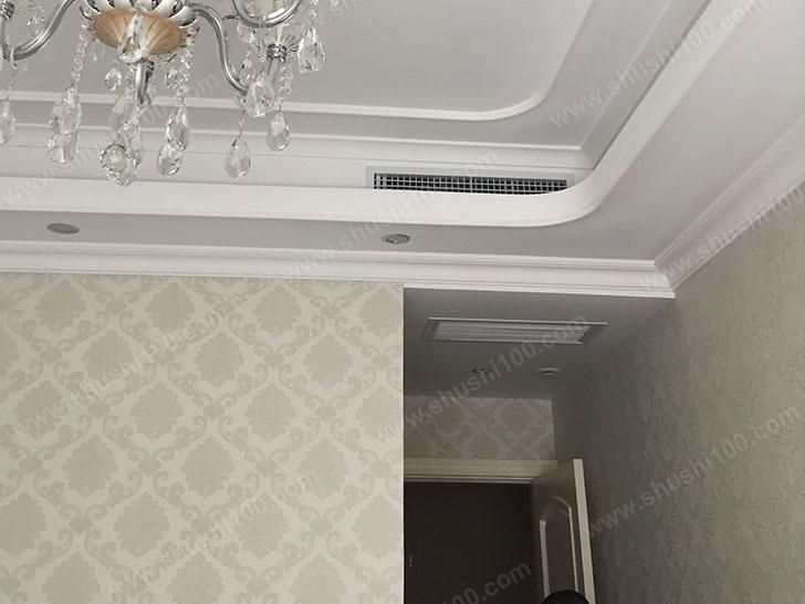 中央空调施工图 中央空调安装效果图