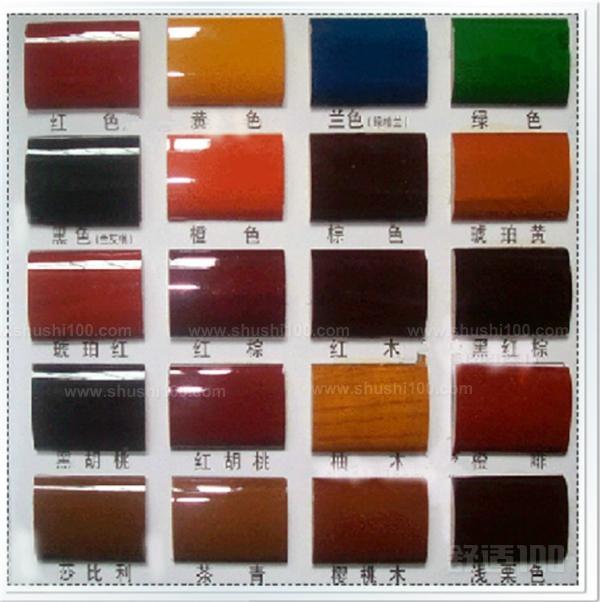 木器油漆分类—木器油漆有哪些种类图片