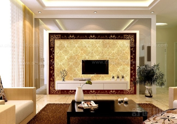 但是电视墙的装饰有许多方法
