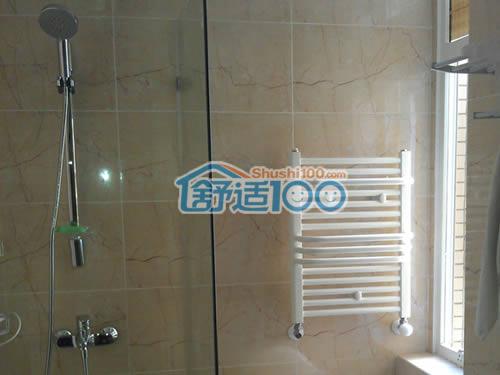 小背篓暖气片安装图—金海卫浴暖气片安装效果图