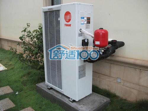 中央空调室外机安装示意图