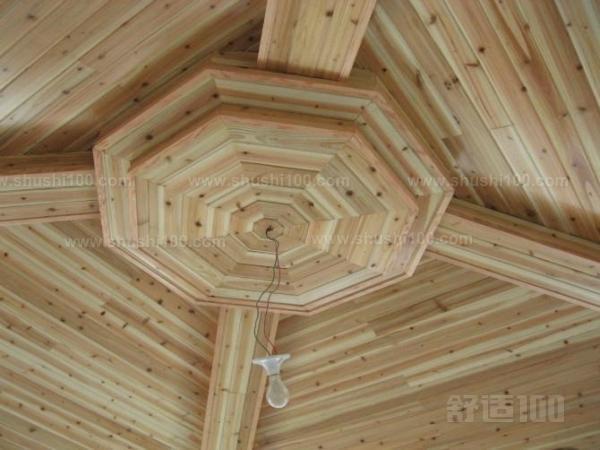 桑拿木吊顶的方法——购买桑拿板  安装木制桑拿板的第一步是衡量