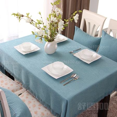 家庭餐桌布如何使用—家庭餐桌布的使用与搭配