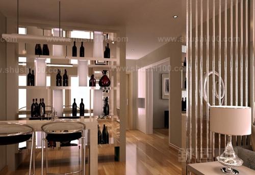 客厅酒柜隔断如何选择—酒柜隔断造型