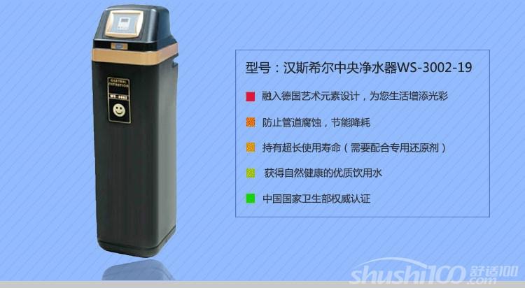 汉斯希尔中央净水机─汉斯希尔中央净水机的工作原理