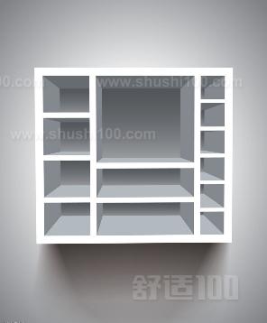 墙壁书柜如何设计一墙壁书柜的尺寸设计及选购方法