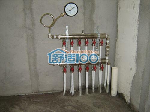 安装 地暖/分集水器安装