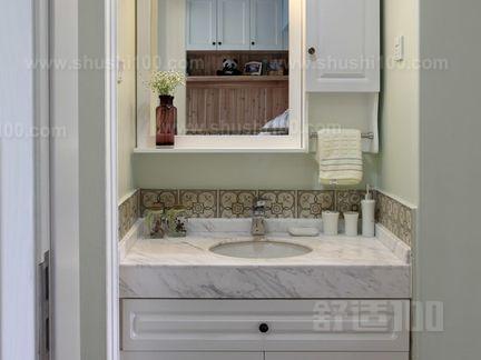 卫生间洗手台隔断 卫生间洗手台保养方法介绍
