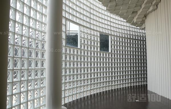 玻璃砖隔墙施工图解_【如何安装玻璃砖呢】