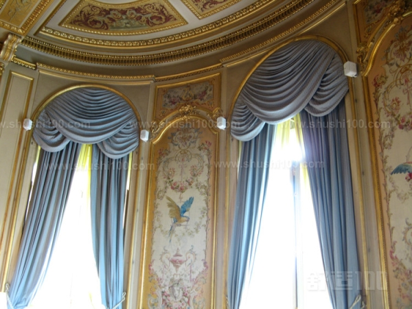 弧形窗帘设计—弧形窗帘轨道安装定位 画线定位的准确性关系到窗帘