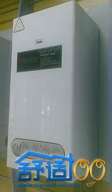 武汉贝雷塔壁挂炉安装实例——家住盘龙城也温暖