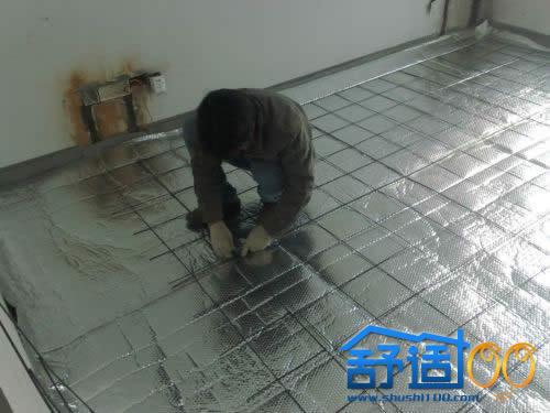 武汉地暖安装实况——一起走进采暖新时代