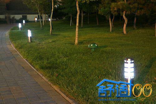 太阳能草坪灯经典案例——让花园亮如白昼的美丽魔法