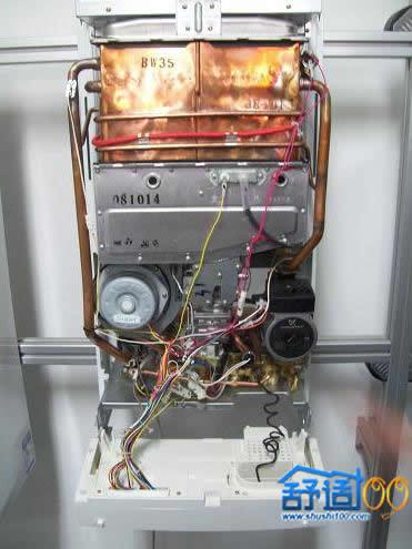 燃气壁挂炉内部结构图