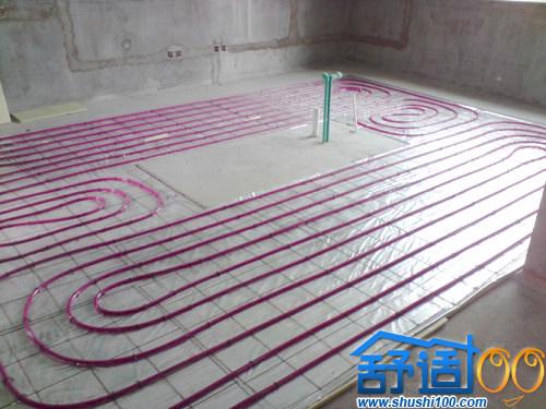 南湖景苑中央供暖之地暖工程案例—武汉家庭采暖新主张