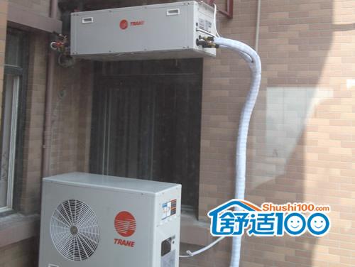 汉口中心嘉园舒适家居系统安装实况-中央空调地暖现场直击
