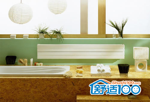 浴室暖气片图片-暖气片室内效果图