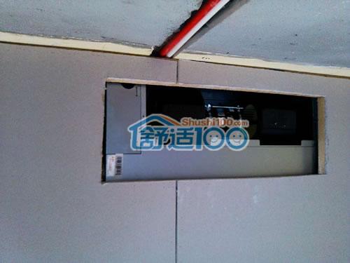 三星家用中央空调安装工艺(图解现场)