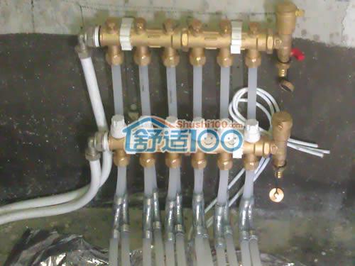 地暖分集水器安装示意图-地暖怎么放气 地热放气的方法整理