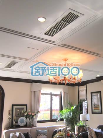 别墅中央空调安装图片-走进纳帕溪谷300平米美式豪宅