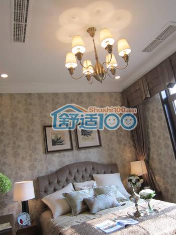 别墅中央空调安装图片-卧室