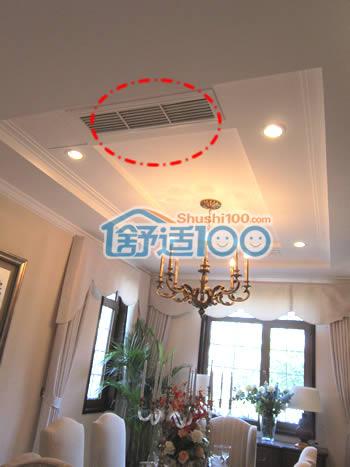 纳帕溪谷别墅中央空调安装效果图高清图片