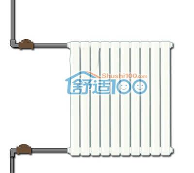 暖气片连接示意图-暖气片连接方式介绍